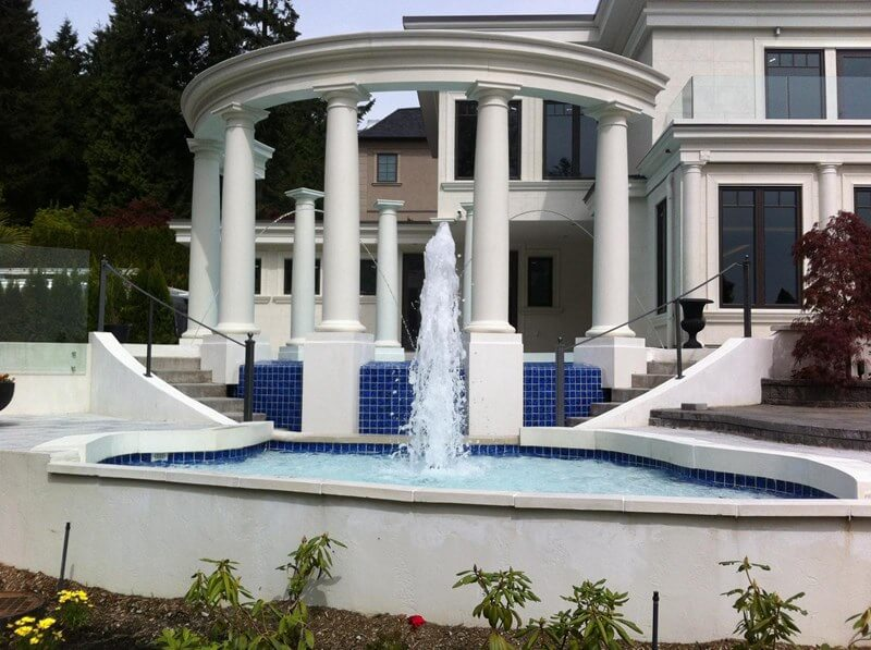 3 of our favourite Trasolini Pools water features