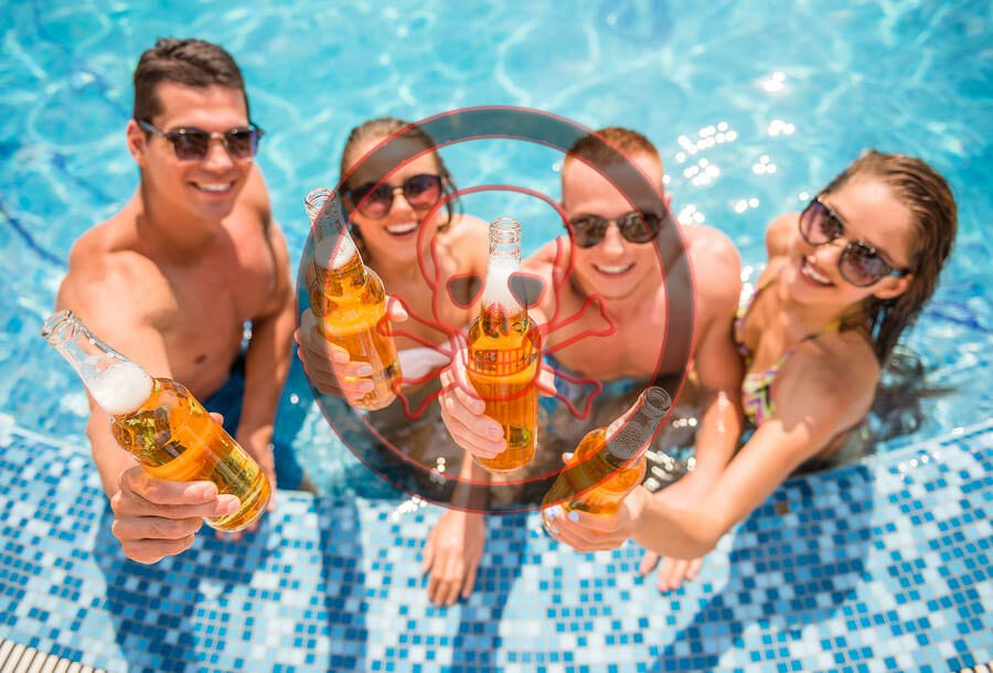ethanol and hot tub Identify the factors that affect blood pressure describe the individual and collective effects of the lasix, hot water and alcohol on blood pressure.