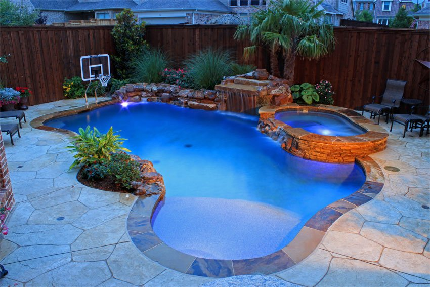 Pool design - Freeform - Trasolini Pools Ltd