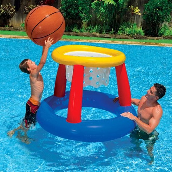 inflatable giant basketball