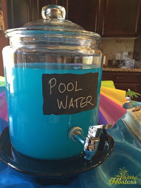 summer birthday pool party ideas