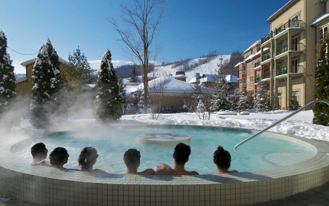 Hot tub party ideas for the winter