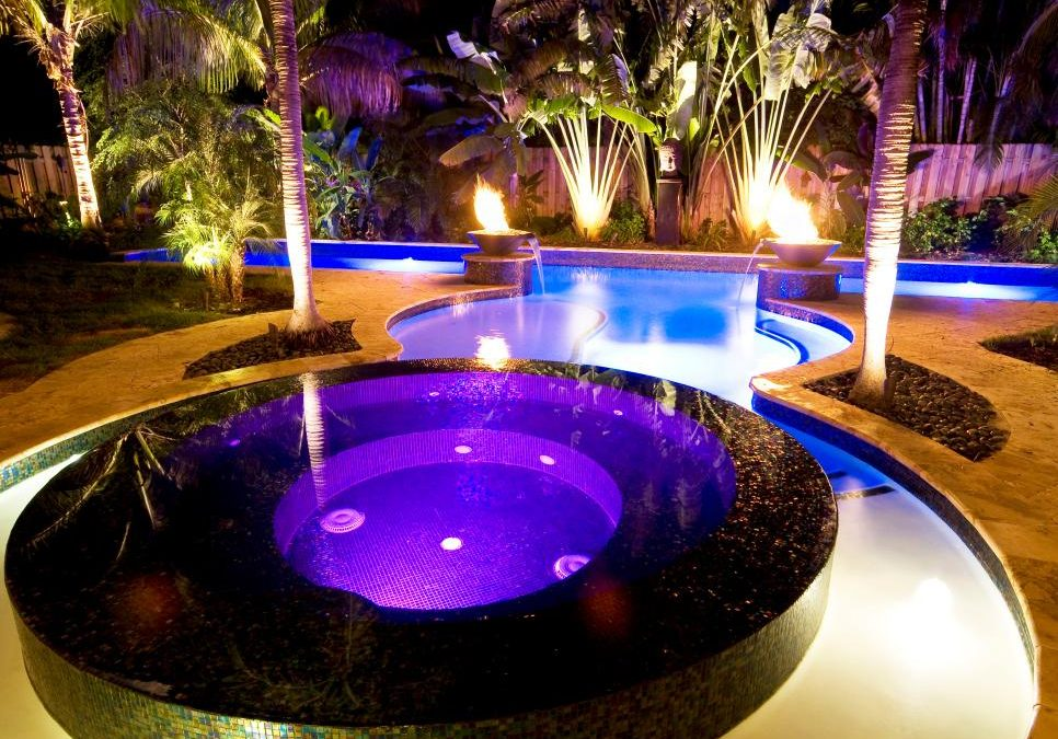 Six of our favourite ways to add ambience to an outdoor hot tub