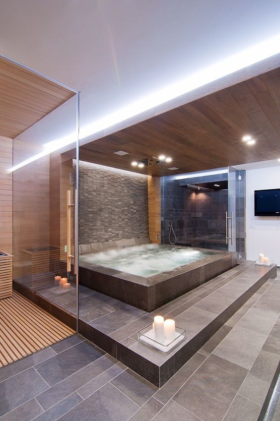 create indoor spa - vancouver pool company - trasolini pools