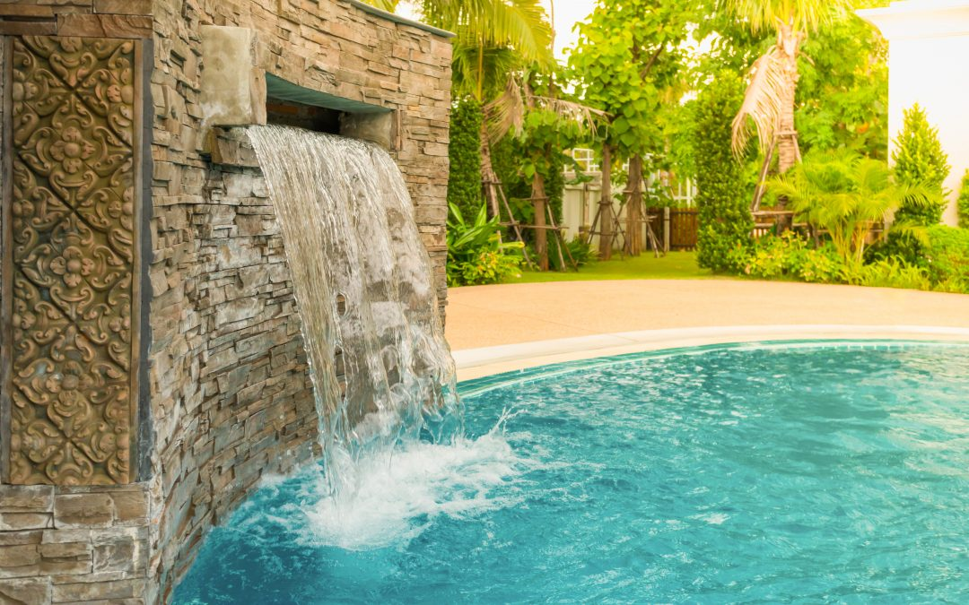 Should you include a waterfall as part of your Vancouver swimming pool's design