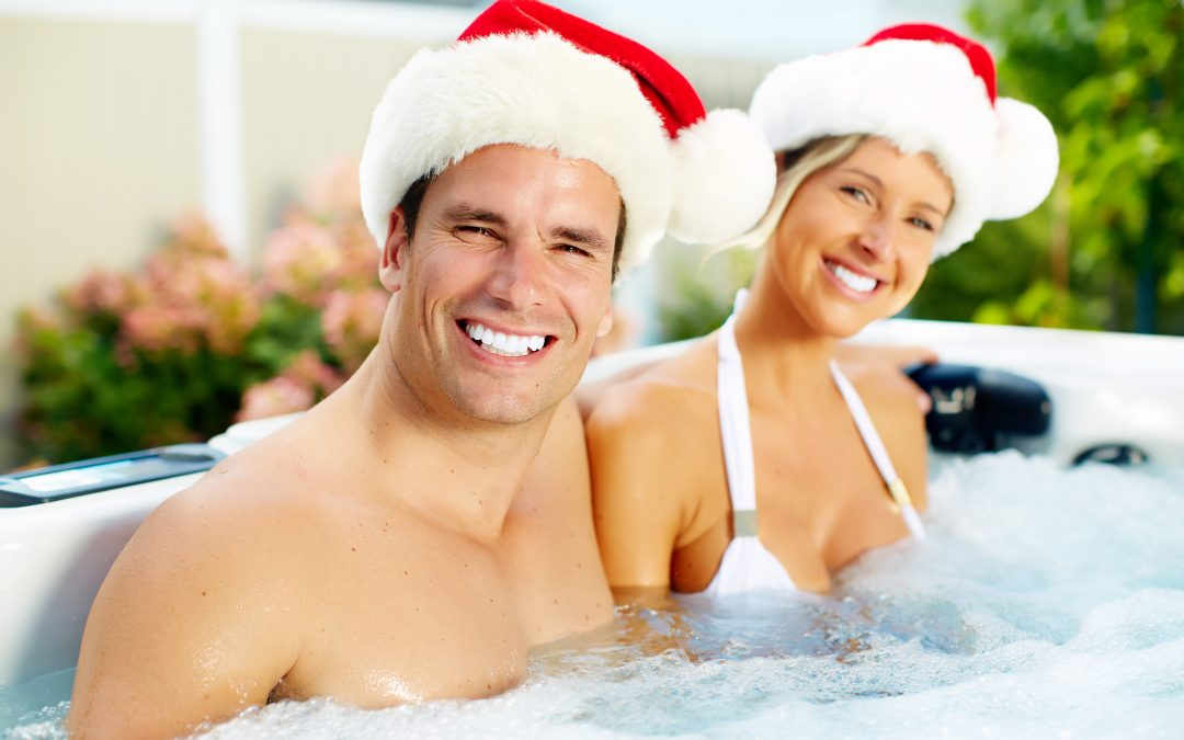 How to throw the perfect Christmas hot tub party for your family