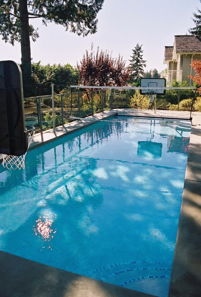 sports package - custom features to add to your swimming pool design - vancouver pool company - swimming pool contractor in vancouver - trasolini pools