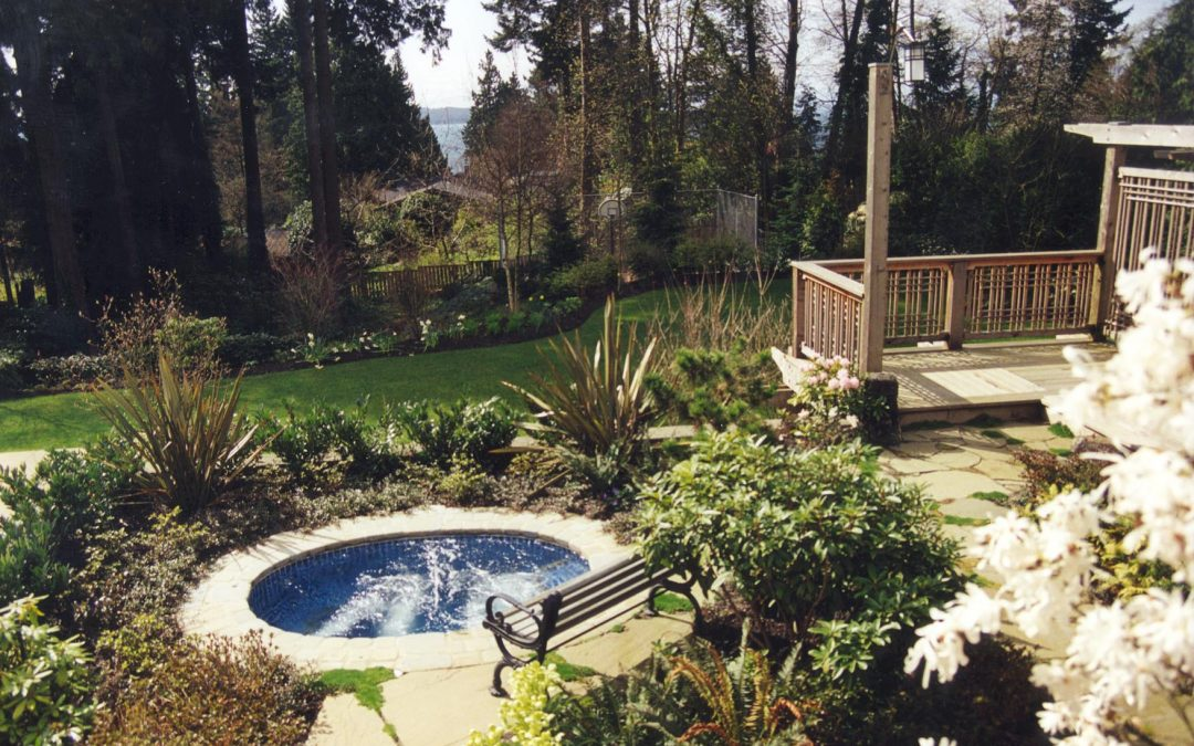 6 tips to help spruce up the area around your inground hot tub