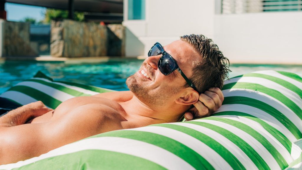 Must Have Pool Accessories for Summer 2021 - Vancouver pool company - Vancouver hot tub company - Trasolini pools - Floatable Lounge Chairs